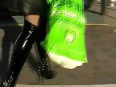 flashing stockings