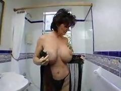 fake tits pornstar