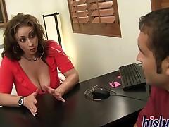 horny office