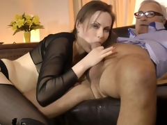 fingering old and young