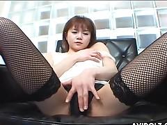 fishnet panties