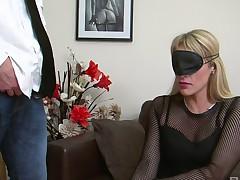 bar blindfolded