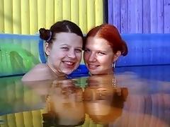 girls pool
