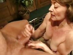handjob natural tits